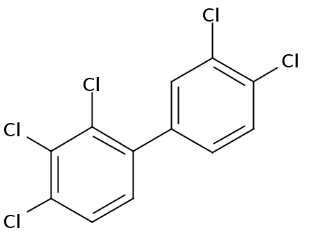 Chemical Structure for 2,3,3',4,4'-Pentachlorobiphenyl