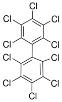 Chemical Structure for Decachlorobiphenyl Solution