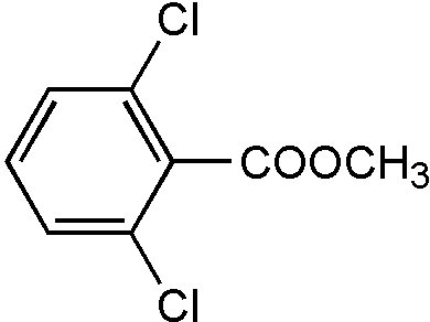 Chemical Structure for 2,6-Dichlorobenzoic acid methyl ester