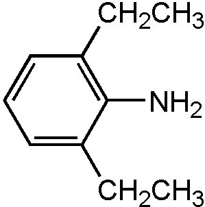 Chemical Structure for 2,6-Diethylaniline