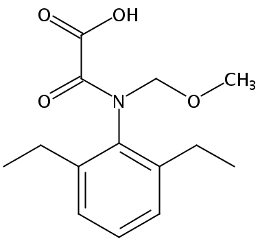 Chemical Structure for Alachlor OA Solution