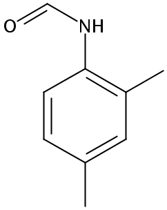 Chemical Structure for N-(2,4-Dimethylphenyl)formamide