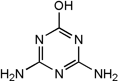 Chemical Structure for Atrazine desethyl desisopropyl-2-hydroxy