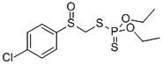 Chemical Structure for Carbophenothion sulfoxide