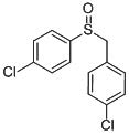 Chemical Structure for Chlorbenside sulfoxide Solution