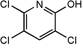 Chemical Structure for 3,5,6-Trichloro-2-pyridinol