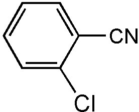 Chemical Structure for 2-Chlorobenzonitrile