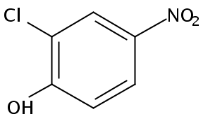 Chemical Structure for 2-Chloro-4-nitrophenol
