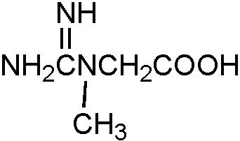 Chemical Structure for Creatine