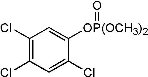Chemical Structure for Fenchlorphos-oxon