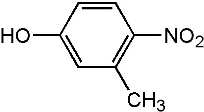 Chemical Structure for 3-Methyl-4-nitrophenol