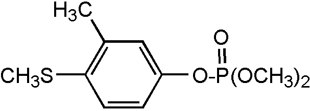Chemical Structure for Fenthion-O-analog Solution