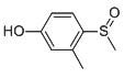 Chemical Structure for 3-Methyl-4-(methylsulfinyl)-Phenol
