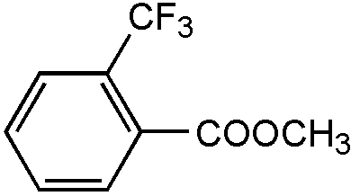 Chemical Structure for Methyl o-trifluoromethylbenzoate