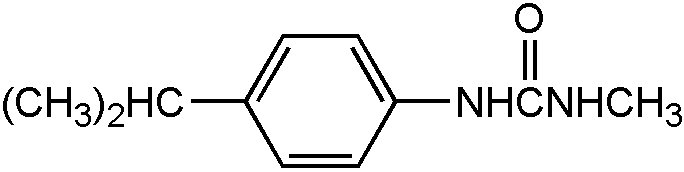 Chemical Structure for Monodesmethyl Isoproturon