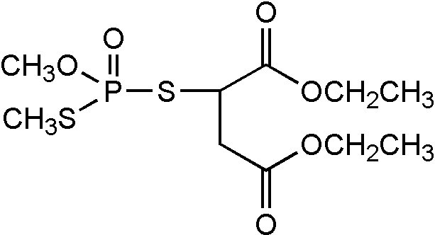 Chemical Structure for Isomalathion Solution