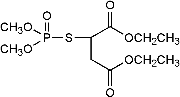 Chemical Structure for Malathion-O-analog