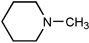 Chemical Structure for N-Methylpiperidine
