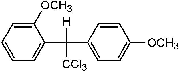 Chemical Structure for o,p'-Methoxychlor