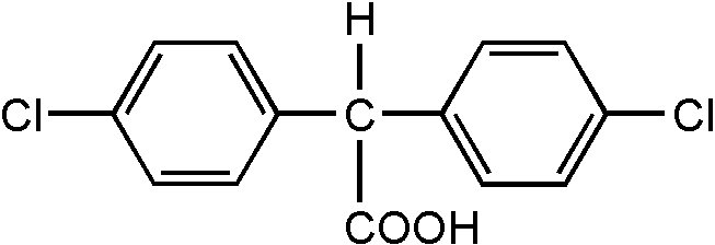 Chemical Structure for p,p'-DDA