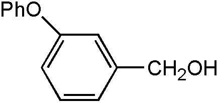 Chemical Structure for m-Phenoxybenzyl alcohol