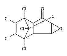 Chemical Structure for 1-Keto-2,3-epoxidechlordane