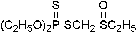 Chemical Structure for Phorate sulfoxide