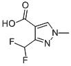 Chemical Structure for 3-(Difluoromethyl)-1-methyl-1H-pyrazole-4-carboxylic acid