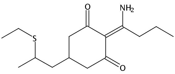 Chemical Structure for Sethoxydim-desethoxy