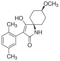 Chemical Structure for Spirotetramat-cis-enol