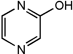 Chemical Structure for 2-Hydroxypyrazine Solution