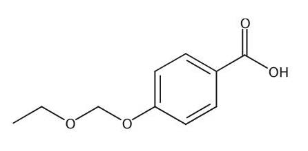 Chemical Structure for 4-(Ethoxymethoxy)benzoic acid