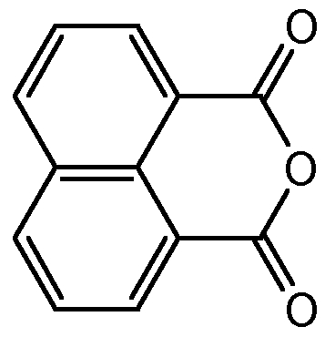 Chemical Structure for 1-8-Naphthalic anhydride