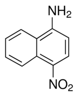 Chemical Structure for 1-Amino-4-nitronaphthalene