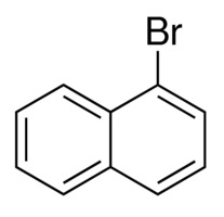 Chemical Structure for 1-Bromonaphthalene