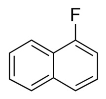 Chemical Structure for 1-Fluoronaphthalene