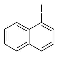 Chemical Structure for 1-Iodonaphthalene