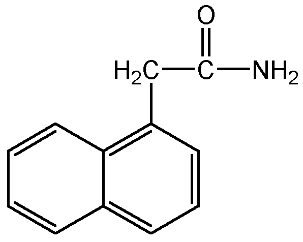Chemical Structure for 1-Naphthaleneacetamide