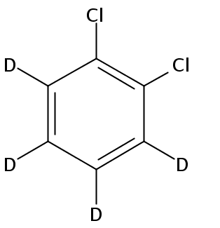 Chemical Structure for 1,2-Dichlorobenzene-d4