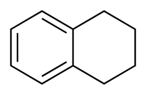 Chemical Structure for 1,2,3,4-Tetrahydronaphthalene
