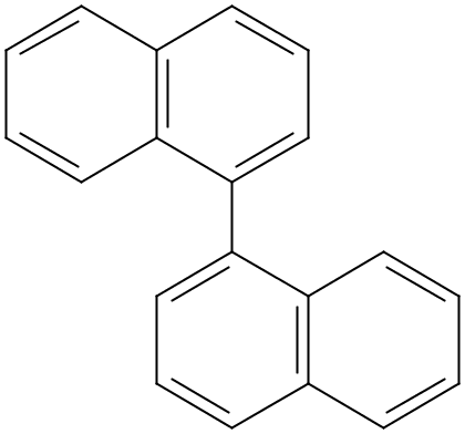 Chemical Structure for 1,1'-Binaphthyl