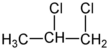 Chemical Structure for 1,2-Dichloropropane