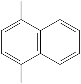 Chemical Structure for 1,4-Dimethylnaphthalene