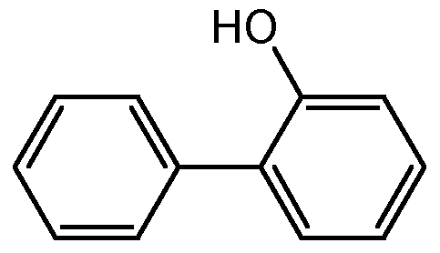 Chemical Structure for 2-Biphenylol