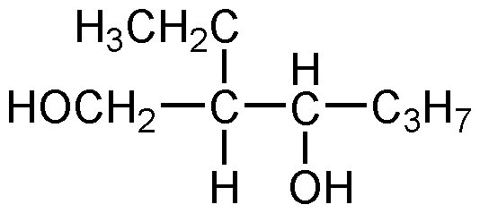 Chemical Structure for 2-Ethyl-1,3-hexanediol