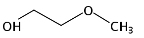 Chemical Structure for 2-Methoxyethanol