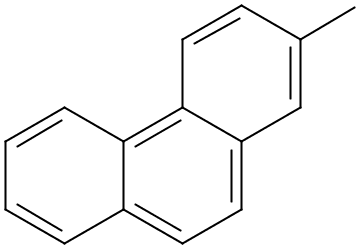 Chemical Structure for 2-Methylphenanthrene