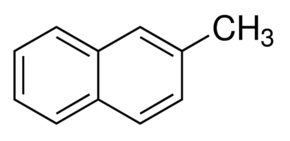 Chemical Structure for 2-Methylnaphthalene
