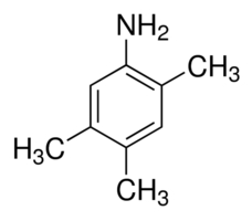 Chemical Structure for 2,4,5-Trimethylaniline