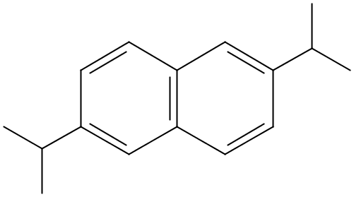 Chemical Structure for 2,6-Diisopropylnaphthalene